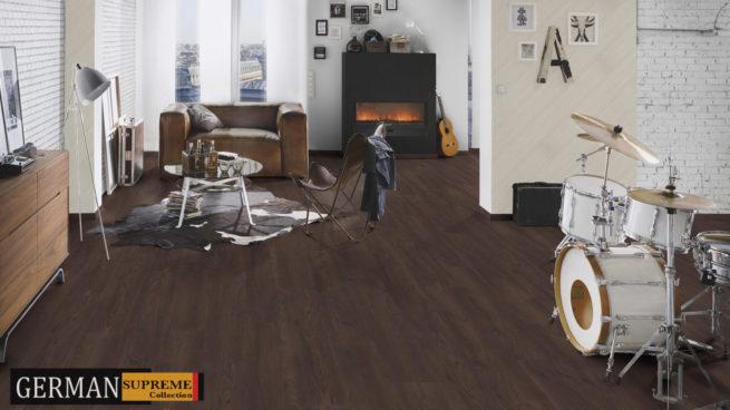 12mm Ac5 Original Black Forest Oak Laminate Floors For Less
